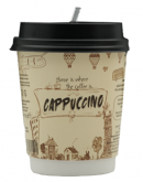 Cappuccino - 8 Oz