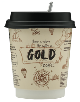 Gold Coffee - 8 Oz